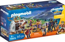 Playmobil The Movie Charlie mit Gefängniswagen