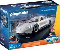 Playmobil The Movie Rex Dasher's Porsche Mission E.