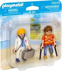 Playmobil DuoPack Ärztin und Patient