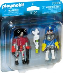 Playmobil DuoPack Space-Polizist und Ganove