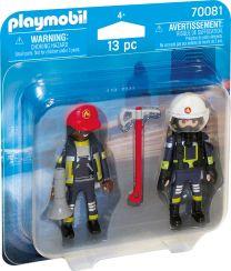 Playmobil DuoPack Feuerwehrmann und Feuerwehrfrau