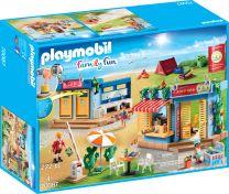 Playmobil Family Fun Großer Campingplatz