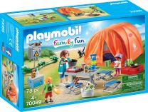 Playmobil Family Fun Familien-Camping