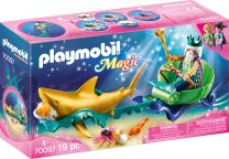 Playmobil Magic Meereskönig mit Haikutsche