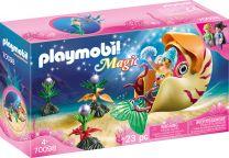 Playmobil Magic Meerjungfrau mit Schneckengondel
