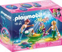 Playmobil Magic Familie mit Muschelkinderwagen
