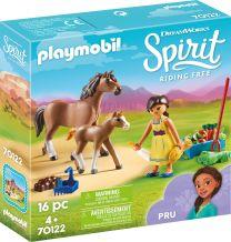 Playmobil Spirit Pru mit Pferd und Fohlen