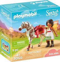 Playmobil Spirit Solana beim Voltigieren