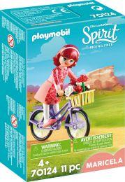 Playmobil Spirit Maricela mit Fahrrad