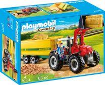 Playmobil Country Riesentraktor mit Anhänger