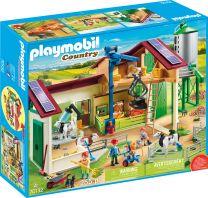 Playmobil Country Großer Bauernhof mit Silo