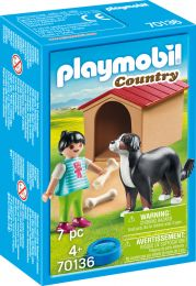 Playmobil Country Hofhund mit Hütte