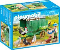 Playmobil Country Mobiles Hühnerhaus