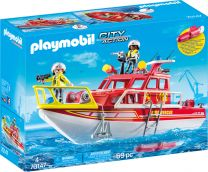 Playmobil City Action Feuerlöschboot