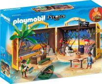 Playmobil Pirates Mitnehm-Pirateninsel