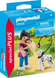 Playmobil Special Plus Mama mit Baby und Hund