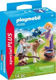 Playmobil Special Plus Kinder mit Kälbchen