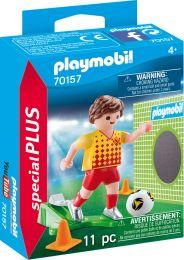 Playmobil Special Plus Fußballspieler mit Torwand