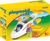 Playmobil 1.2.3 Passagierflugzeug
