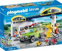 Playmobil City Life Große Tankstelle