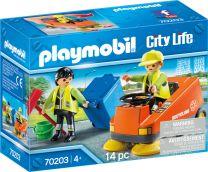 Playmobil City Life Kehrmaschine