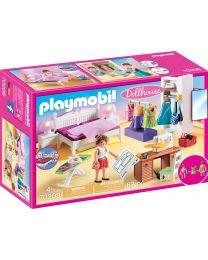 Playmobil Dollhouse Schlafzimmer mit Nähecke