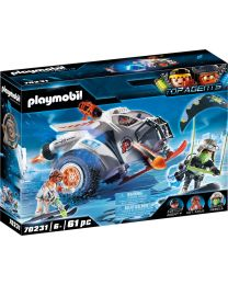 Playmobil Top Agents Spy Team Schneegleiter