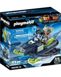 Playmobil Top Agents Arctic Rebels Eisscooter