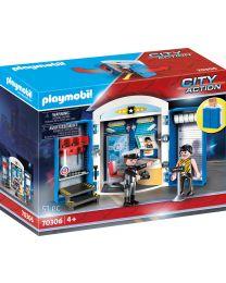 Playmobil City Action Spielbox In der Polizeistaion