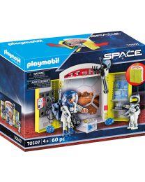 Playmobil Space Spielbox In der Raumstation