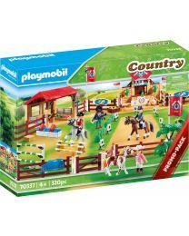 Playmobil Country Großer Reitturnierplatz