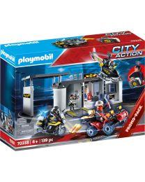 Playmobil City Action Große Mitnehm-SEK Zentrale