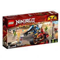 LEGO Ninjago Kai's Feuer-Bike & Zane's Schneemobil