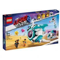LEGO Movie 2 Sweet Mischmasch's Systar Raumschiff