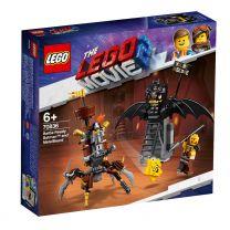 LEGO Movie 2 Einsatzbereiter Batman und EisenBart