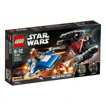 LEGO Star Wars A-Wing vs. TIE Silencer Microfighters