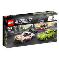 LEGO Speed Champions Porsche 911 RSR und 911 Turbo 3.0