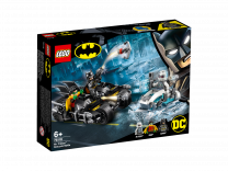 LEGO DC Super Heroes Batcycle-Duell mit Mr. Freeze