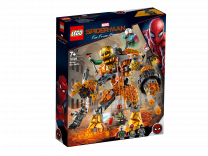 LEGO Spiderman Far From Home Duell mit Molten Man