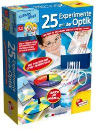 Piatnik Kleines Genie - 25 Experimente mit der Optik