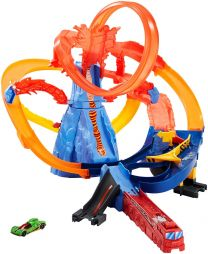 Hot Wheels City Vulkanflucht Trackset