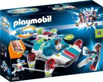 Playmobil Super 4 FulguriX mit Agent Gene