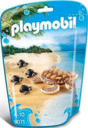 Playmobil Family Fun Wasserschildkröte mit Babys