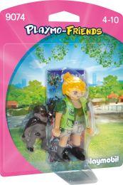 Playmobil Playmo-Friends Tierpflegerin mit Gorillababy