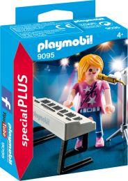 Playmobil Special Plus Sängerin am Keyboard