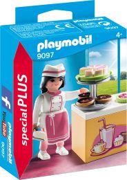 Playmobil Special Plus Konditorin mit Kuchentheke