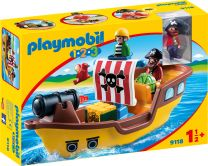 Playmobil 1.2.3 Piratenschiff