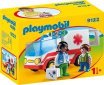 Playmobil 1.2.3 Rettungswagen
