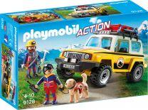 Playmobil Action Bergretter-Einsatzfahrzeug