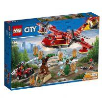 LEGO City Löschflugzeug der Feuerwehr